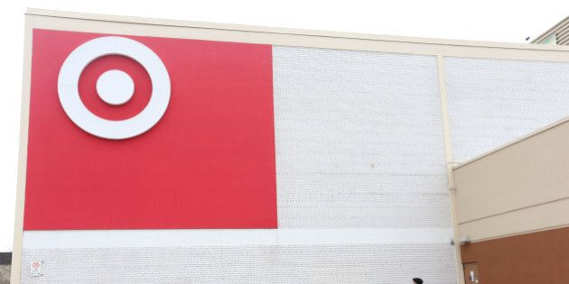 TORONTO, ON - NOVEMBER 19 - Exterior pictures of Target store in Cloverdale Mall in Toronto on November...