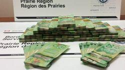 Man Tries To Smuggle Huge Amount Of Cash Through Calgary
