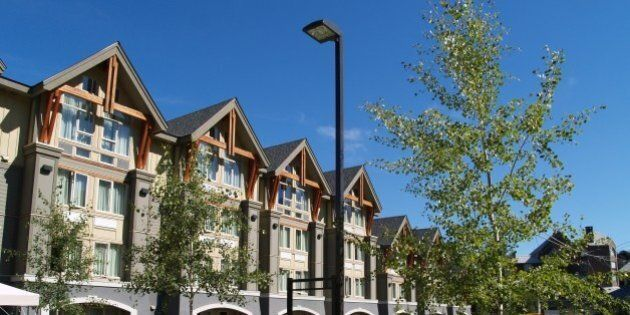 The beautiful (+ reasonably affordable) Aava Hotel near the heart of the Whistler