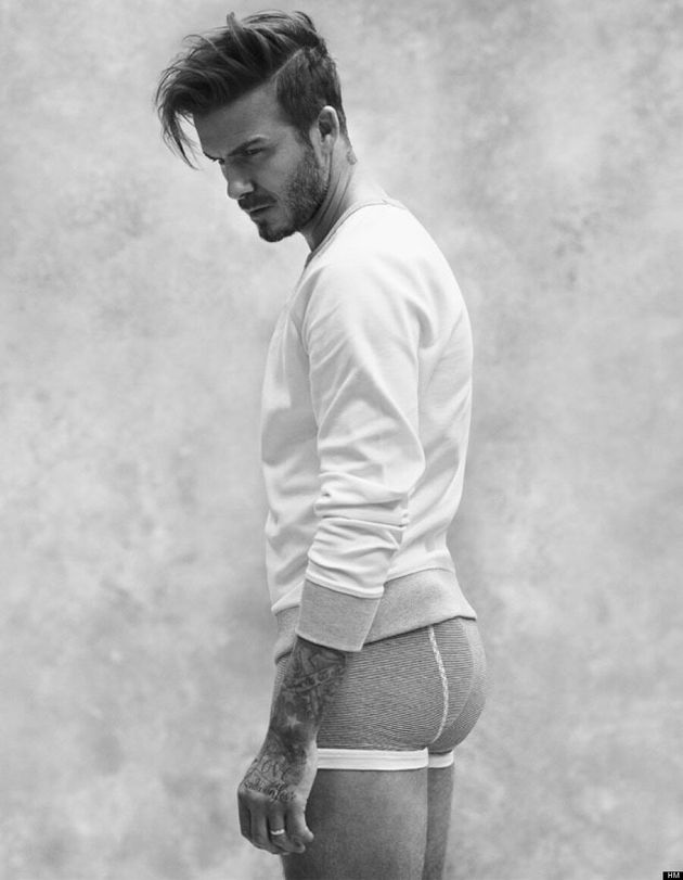 David Beckham Looks Really Hot In His New H&M