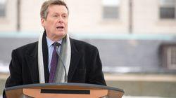 Tory Defends TTC Fare