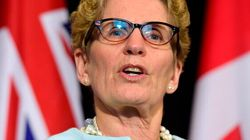 Wynne Pitches Sweeping National Infrastructure