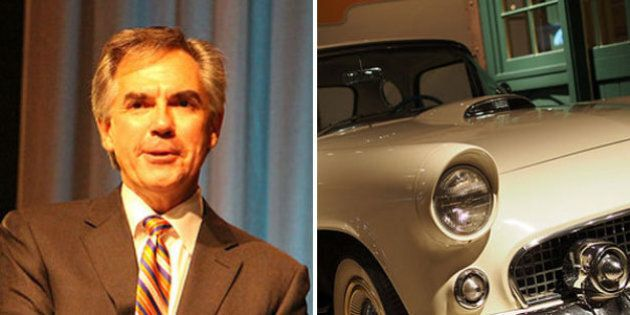 Jim Prentice Takes The T-Bird Away At U.S.