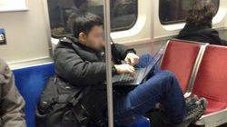 TTC Rider Takes Manspreading To A Whole Different