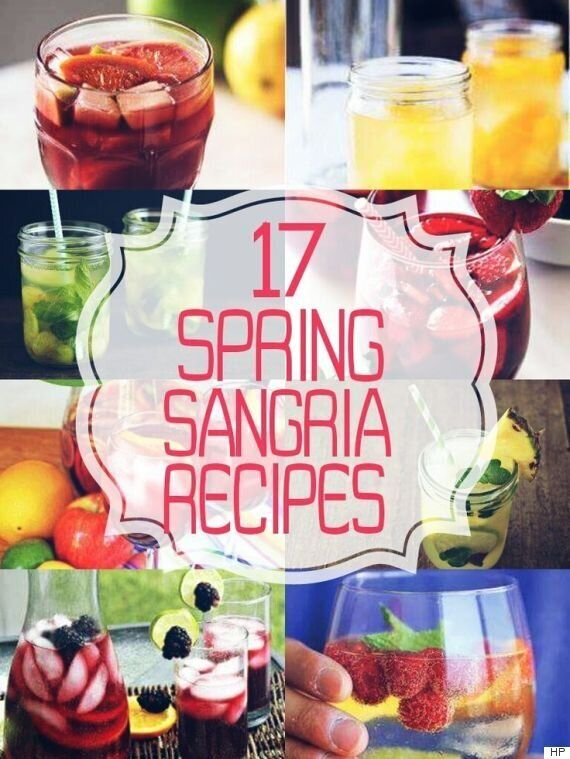 Sangria Recipes To Help You Bask In Spring