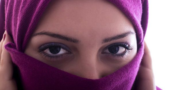 Portrait of a middle eastern woman