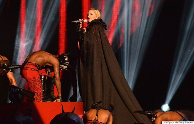 Madonna Fell At The BRIT Awards But She Still Looked
