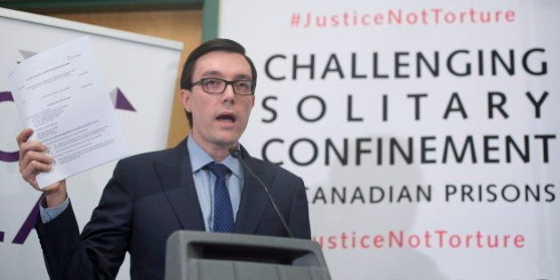Solitary Confinement In Canada: Groups Sue Federal