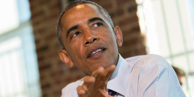 President Barack Obama speaks about proposed legislation to offer paid sick leave for working Americans...