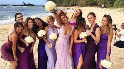 Rihanna Was A Bridesmaid At A 4/20