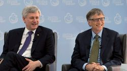 Harper Urges Parents To Vaccinate At Event With Bill