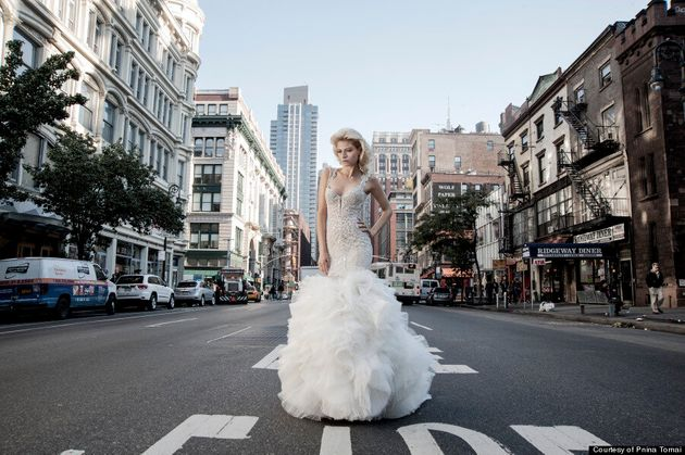 Pnina Tornai Talks Angelina Jolie's Wedding Dress And Who You Shouldn't Bring Gown
