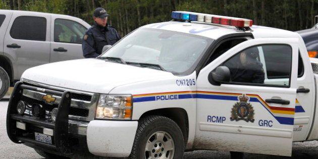 RCMP Officers Shot Outside