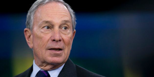 Michael 'Mike' Bloomberg, Bloomberg LP founder and former mayor of New York City, speaks during a Bloomberg...