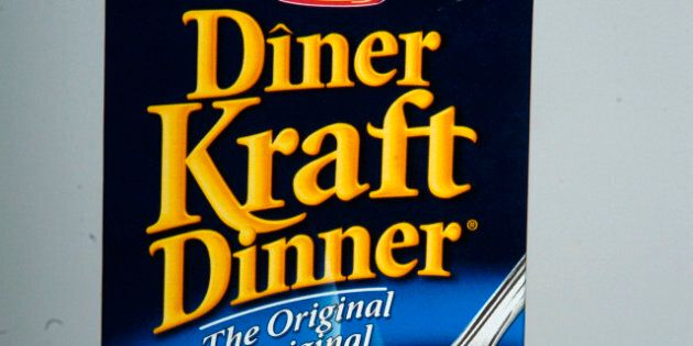 Kraft Dinner -- 05/24/2006 --A studio shot of a box of Kraft Dinner for vice squad column May 26. (Photo by Carlos Osorio/Toronto Star via Getty Images)
