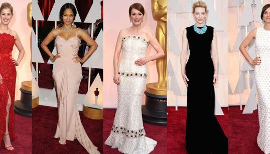 The Hottest Oscar Red Carpet