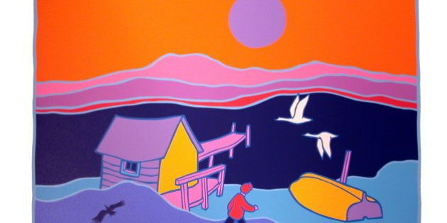 Painter Ted Harrison Dead In Victoria, B.C. At Age