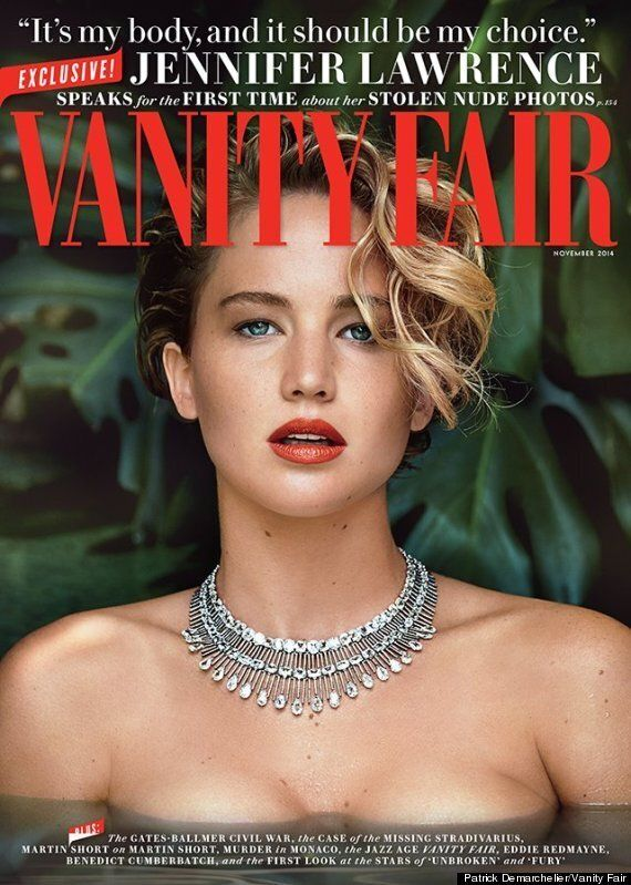 Jennifer Lawrence Poses For Vanity Fair Cover, Speaks Out On Nude Hacking