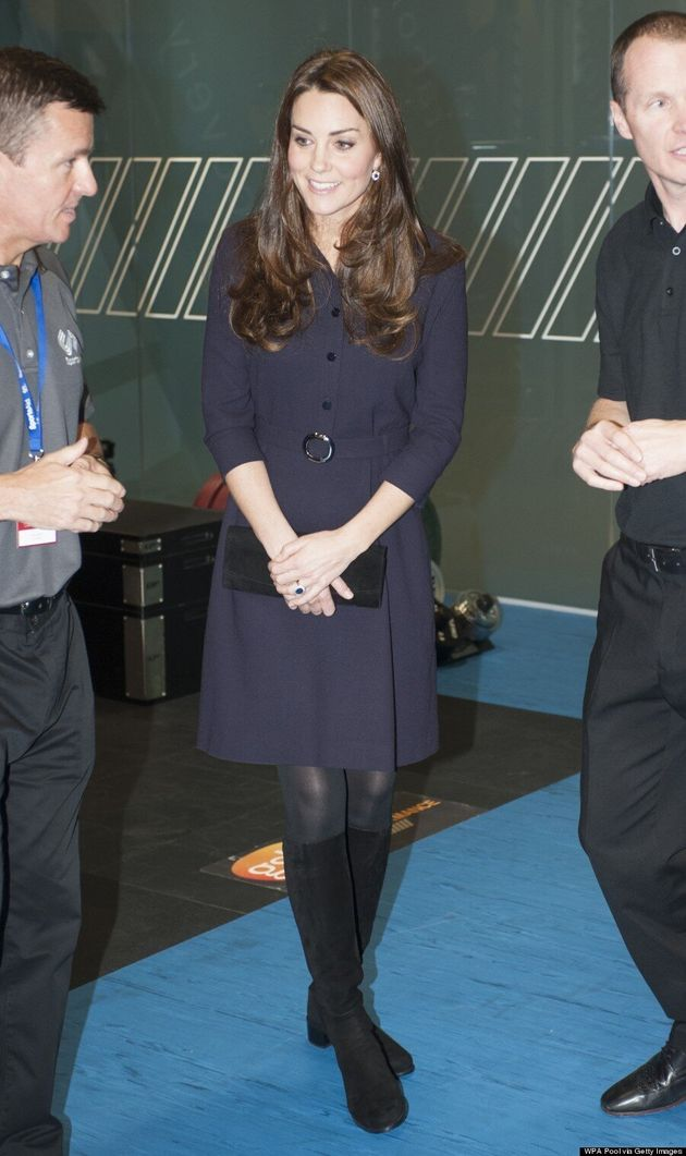 Kate Middleton's Tiny Baby Bump Is Finally Showing!