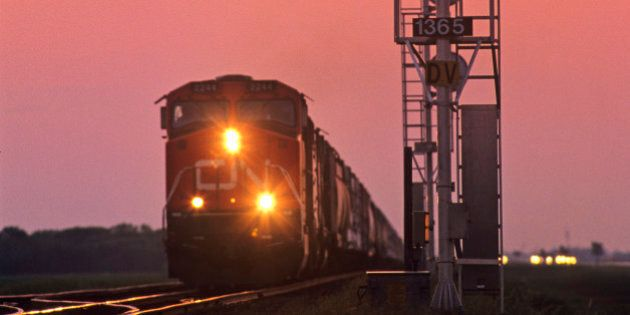Freight Train Drivers Report Falling Asleep On The