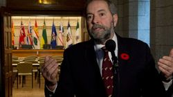 Mulcair: Projected Surplus A