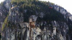 'Terrifying' Stawamus Chief Rock Slide Shakes
