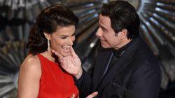 John Travolta Is Way Too Handsy At The