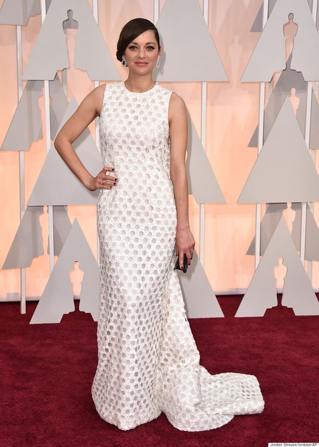 Marion Cotillard's Oscars 2015 Dress Is Fabulous From The
