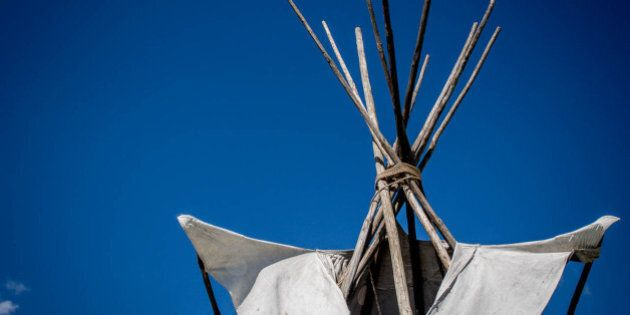 From the Metis Powwow in Big Valley,