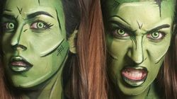 Canadian Artist's Comic Book Makeup Is Seriously