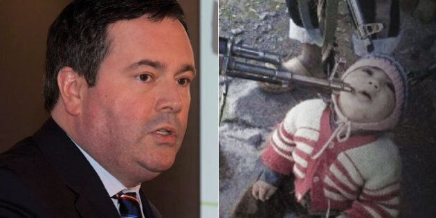 Jason Kenney Posts Photos Of Iraqi Children To Make Case For ISIL