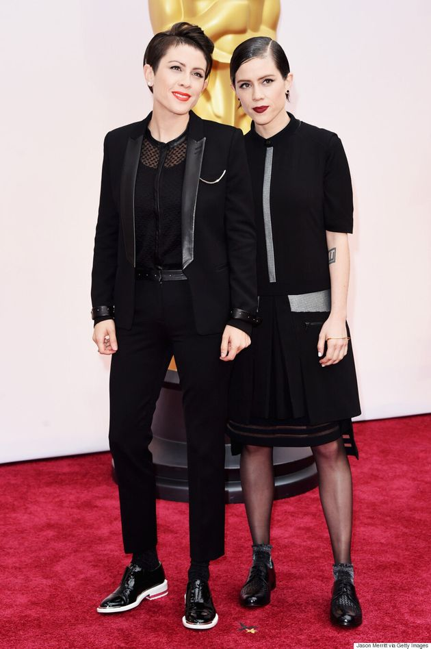 Tegan And Sara's Oscars 2015 Outfits Are A Lesson In