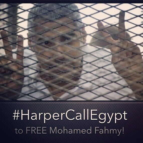I'm Begging Harper to Help Free Mohamed