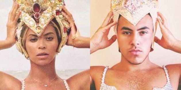 Canadian Guy Transforms Himself Into Divas On Instagram, Is Fiercer Than