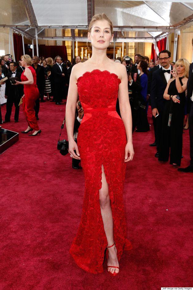 Rosamund Pike's Oscars 2015 Dress Is