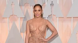 JLo Shows Tons Of Cleavage On The Red