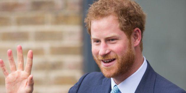 LONDON, ENGLAND - DECEMBER 14: Prince Harry visits Mildmay Hospital, a dedicated HIV hospital on December...