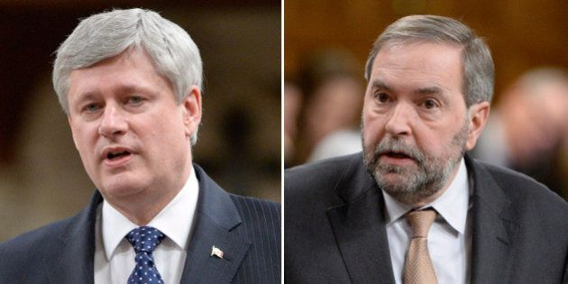Harper Calls Anti-Terror Bill Criticisms From NDP