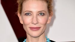 Cate Gets Overshadowed By A Necklace At The