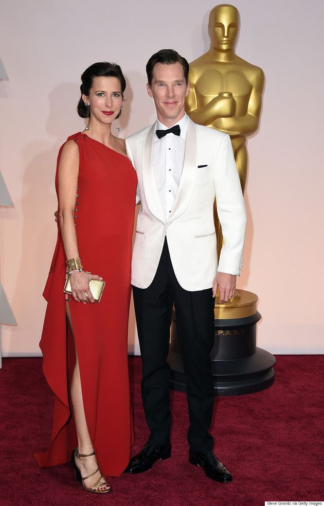 Benedict Cumberbatch's Oscars 2015 Outfit Channels Bond, James
