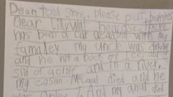 Grieving 7-Year-Old Pens Letter To B.C. Transportation