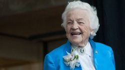 'Hurricane Hazel' Takes On New Job At Age
