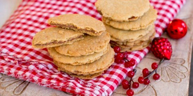 Christmas Cookie Recipe How To Make Shortbread Wafer Sandwiches