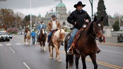 Canadian Veterans Start Horseback Ride Across The
