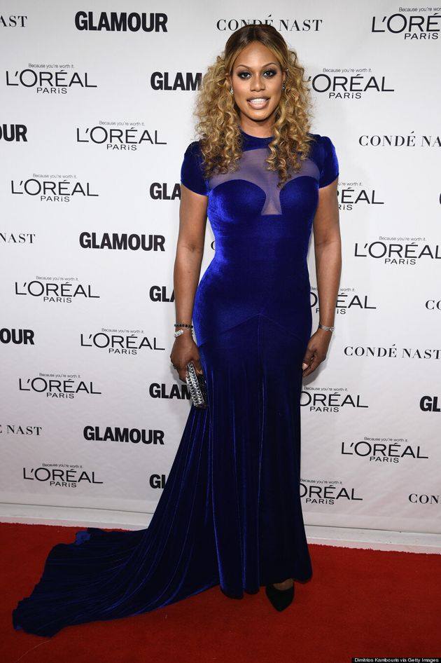Laverne Cox Rocks Sexy Gown At Glamour Women Of The Year