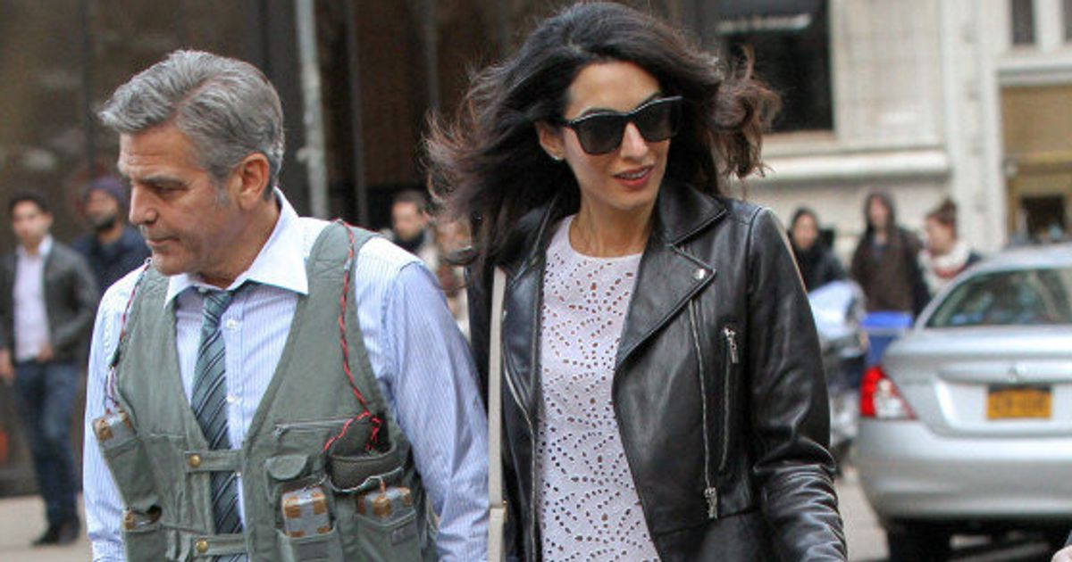 Amal Clooney's Dog-Walking Outfit Is Perfect, Obviously