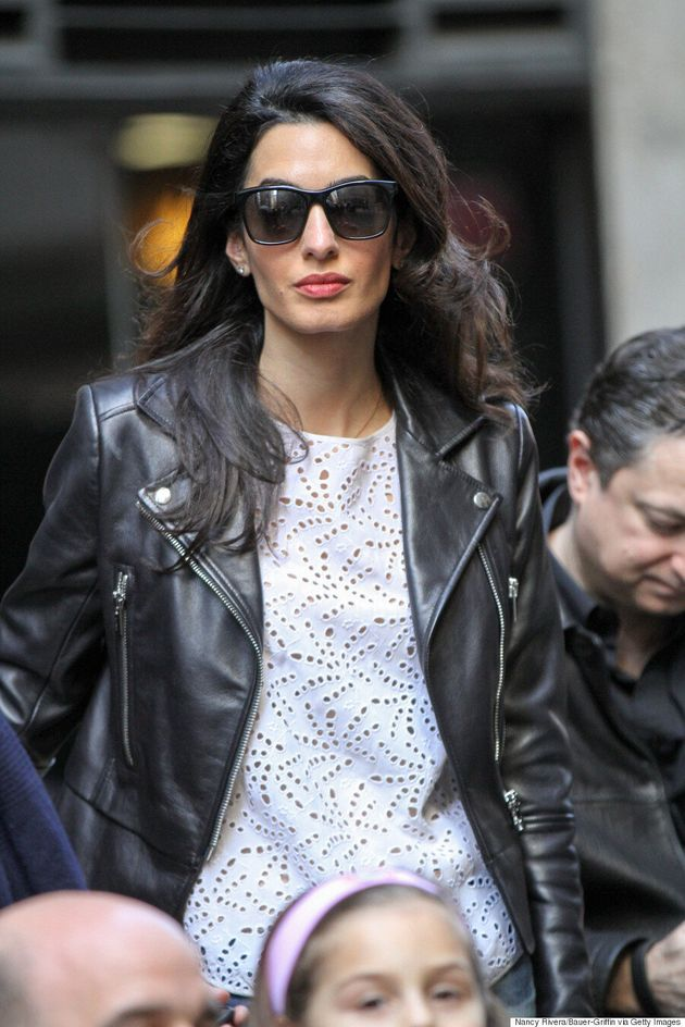 Amal Clooney's Dog-Walking Outfit Is Perfect,