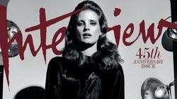 Jessica Chastain Poses In