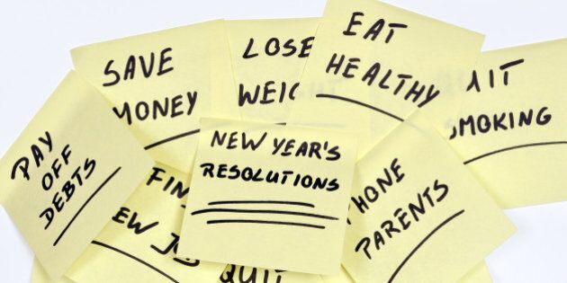 New Year's Resolutions That Don't Stand a