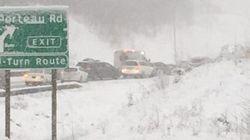 B.C. Storm Brings Snow, Freezing Rain, Traffic